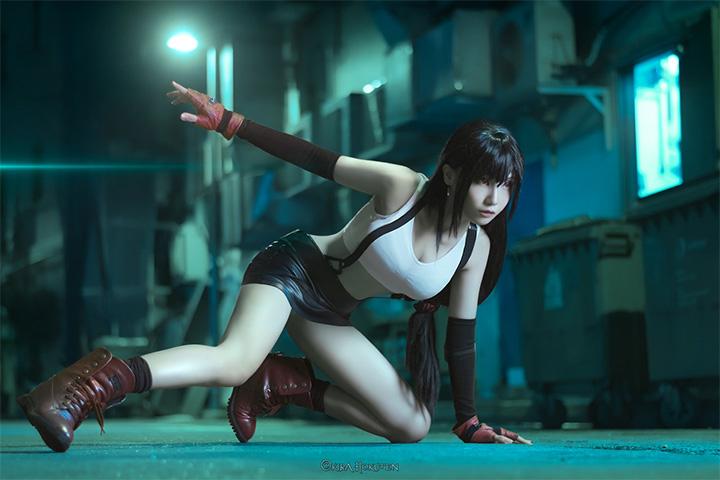 10 อันดับ คนแต่งคอสเพลย์ Tifa ที่แสนน่ารักและเซ็กซี่ หนึ่งในลูกรักจาก Final Fantasy VII
