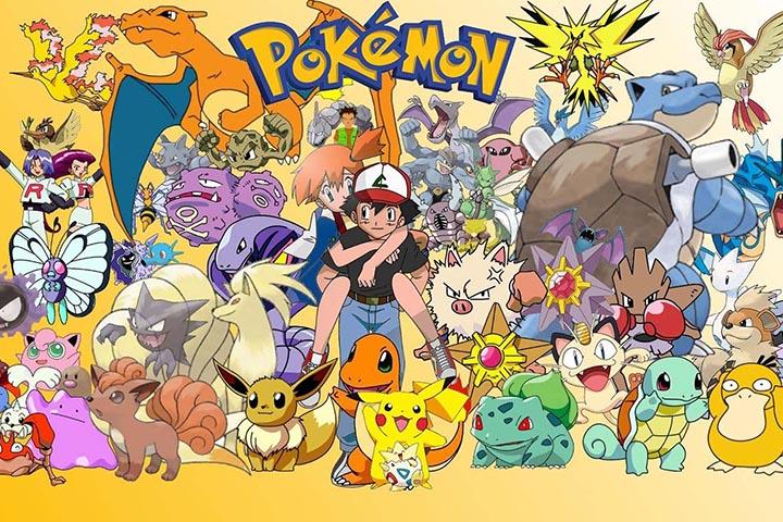 Pokemon ฉันเลือกนาย Pikachu โปเกมอนที่ได้รับความนิยมอันดับ 1 ของโลก